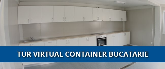 tur virtual container bucatarie